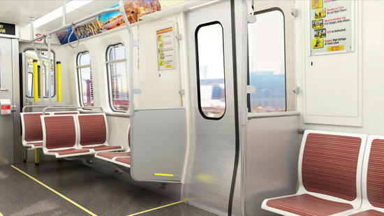 A look at the new CTA 7000 series rail cars