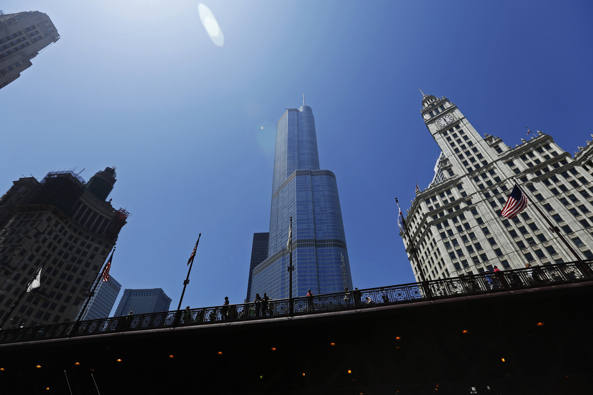 Where is the tallest Trump tower? It's in Chicago — and it's yuuuge ...