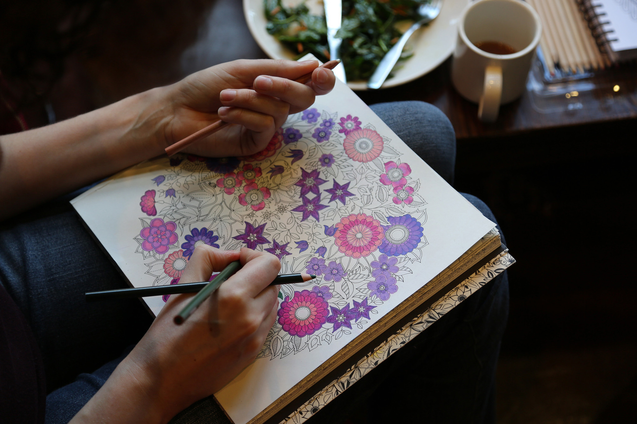 The Big Business Behind Adult Coloring Book Craze