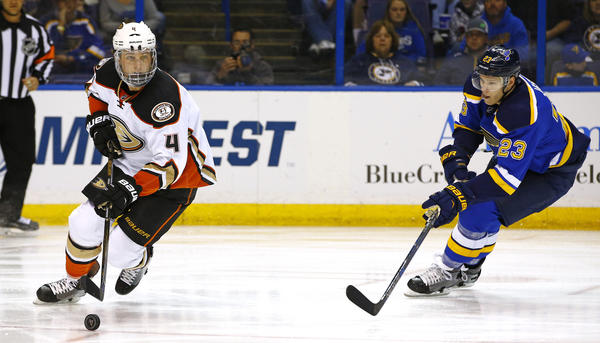 Third-period Miscues Sink Ducks In 5-2 Loss To St. Louis Blues