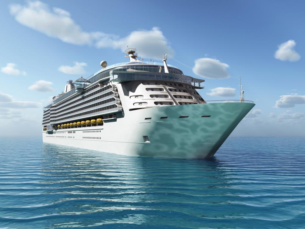 Suicidal Crew Member Brought To Safety After Threatening To Jump - Cruise ship jumper