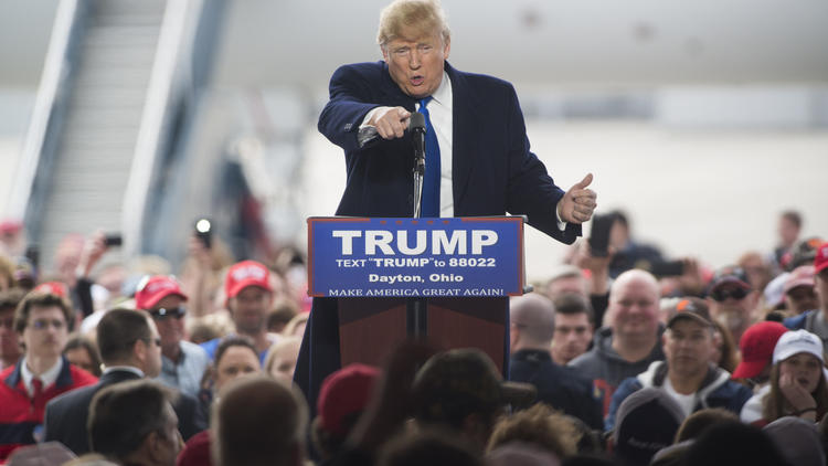 Donald Trump in Vandalia, Ohio