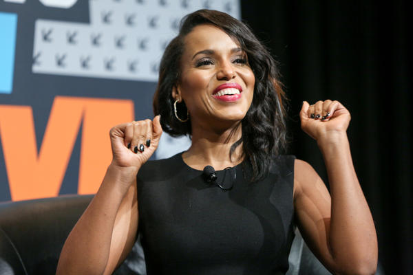"""Scandal"" actress Kerry Washington speaks at the Austin Convention Center on March 13, during the South by Southwest Festival. (Rich Fury / Invision / Associated Press)"