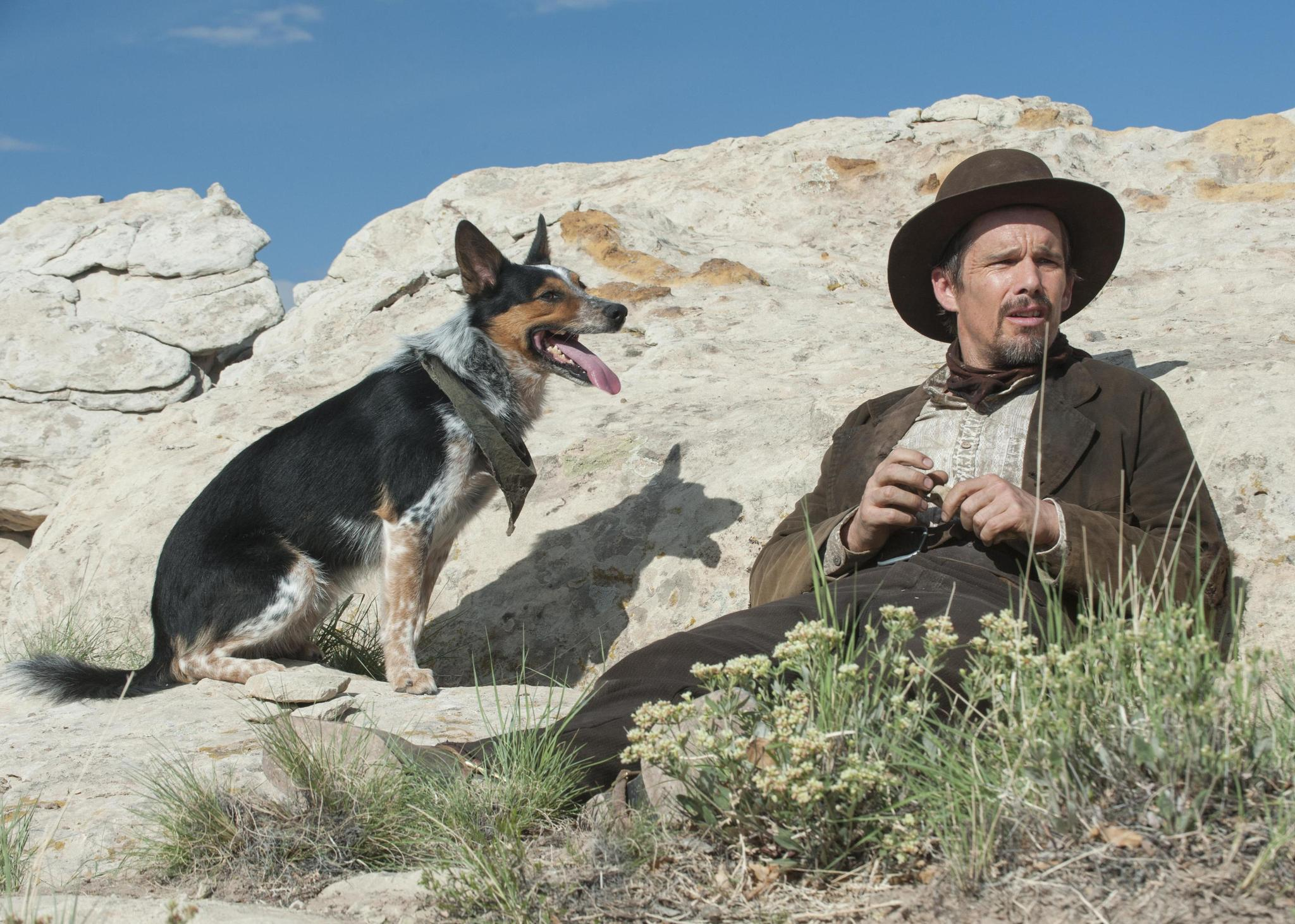 "Ethan Hawke in the western revenge saga ""In a Valley of Violence."" (SXSW)"