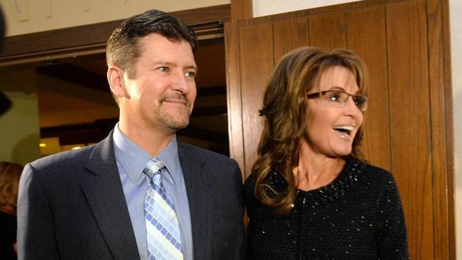 Todd Palin Snowmobile