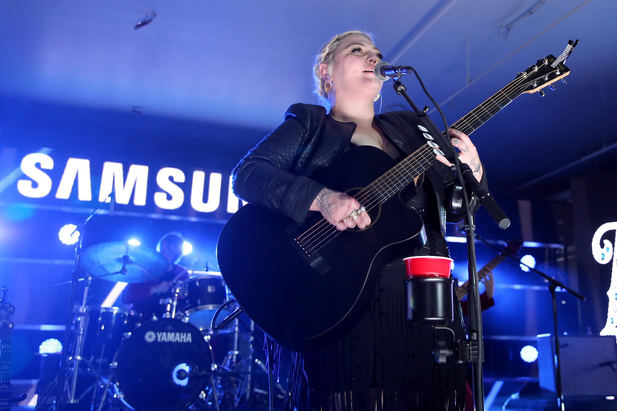 Singer Elle King performs onstage at Samsung Galaxy Life Fest (Jonathan Leibson / Getty Images)