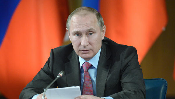 Russian President Vladimir Putin (Alexei Nikolsky / Associated Press)