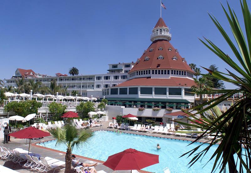 Hotel del Coronado. (Don Tormey / Los Angeles Times)