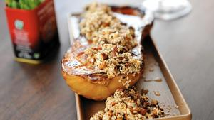 Moruno's roasted butternut squash with dukkah
