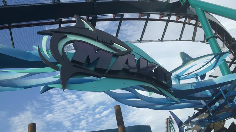 Pictures: Mako roller coaster at SeaWorld Orlando
