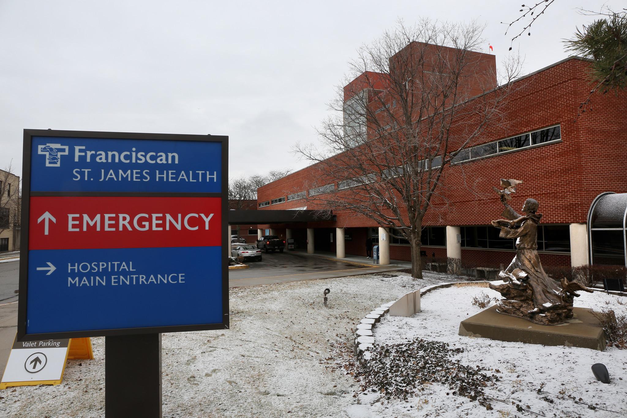 State board report deals setback to franciscan st james hospital project chicago tribune