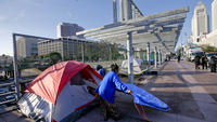 'Where are we going to go?' L.A. homeless sweeps continue despite lawsuit