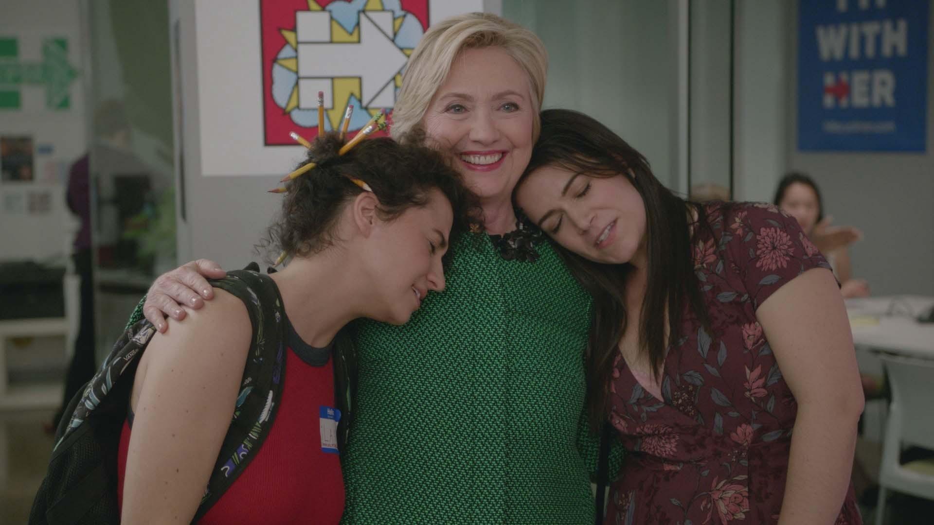 'Broad City' says 'yas, yas, yas' to Hillary Clinton