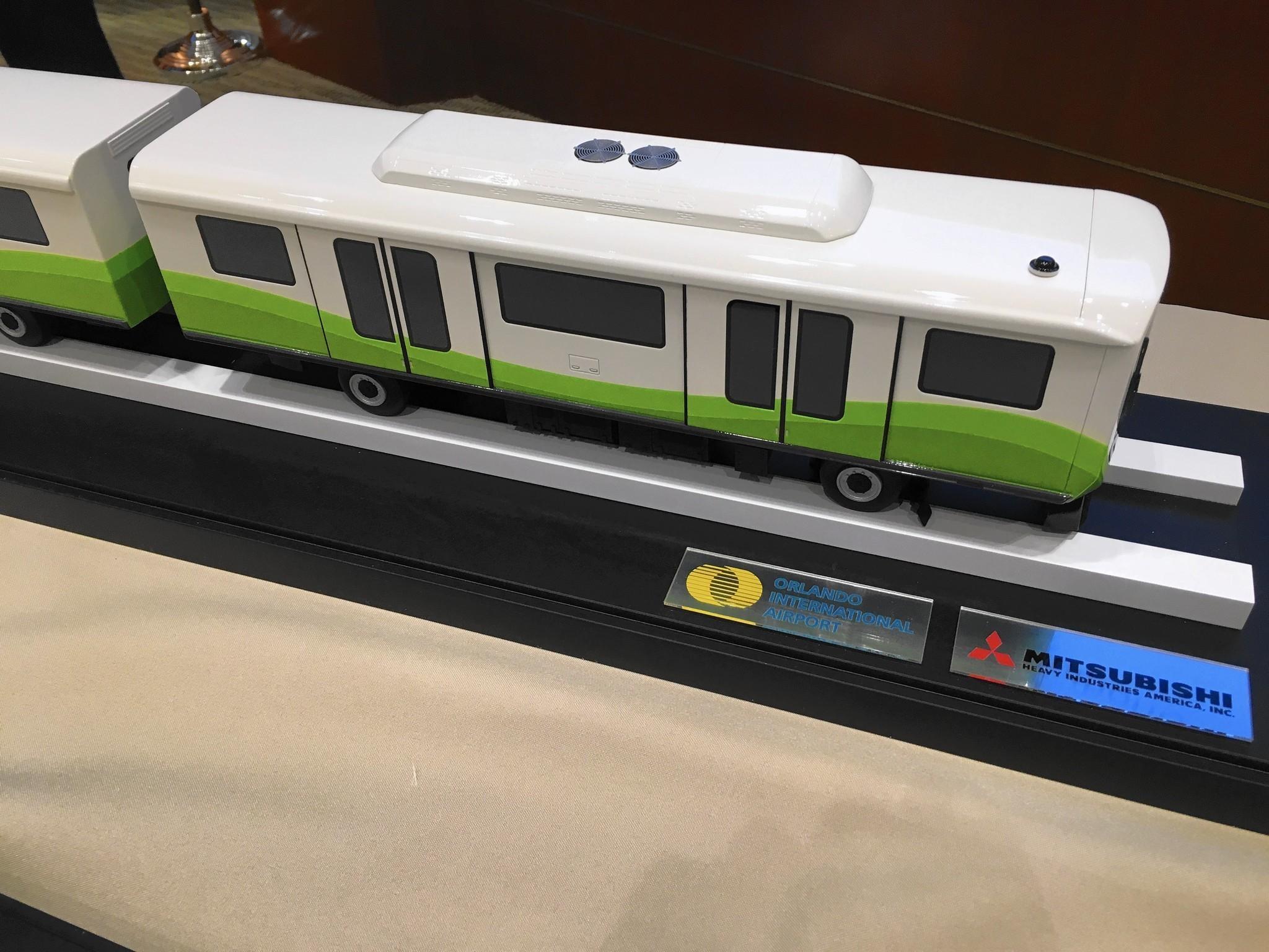 OIA unveils its next passenger tram Orlando Sentinel