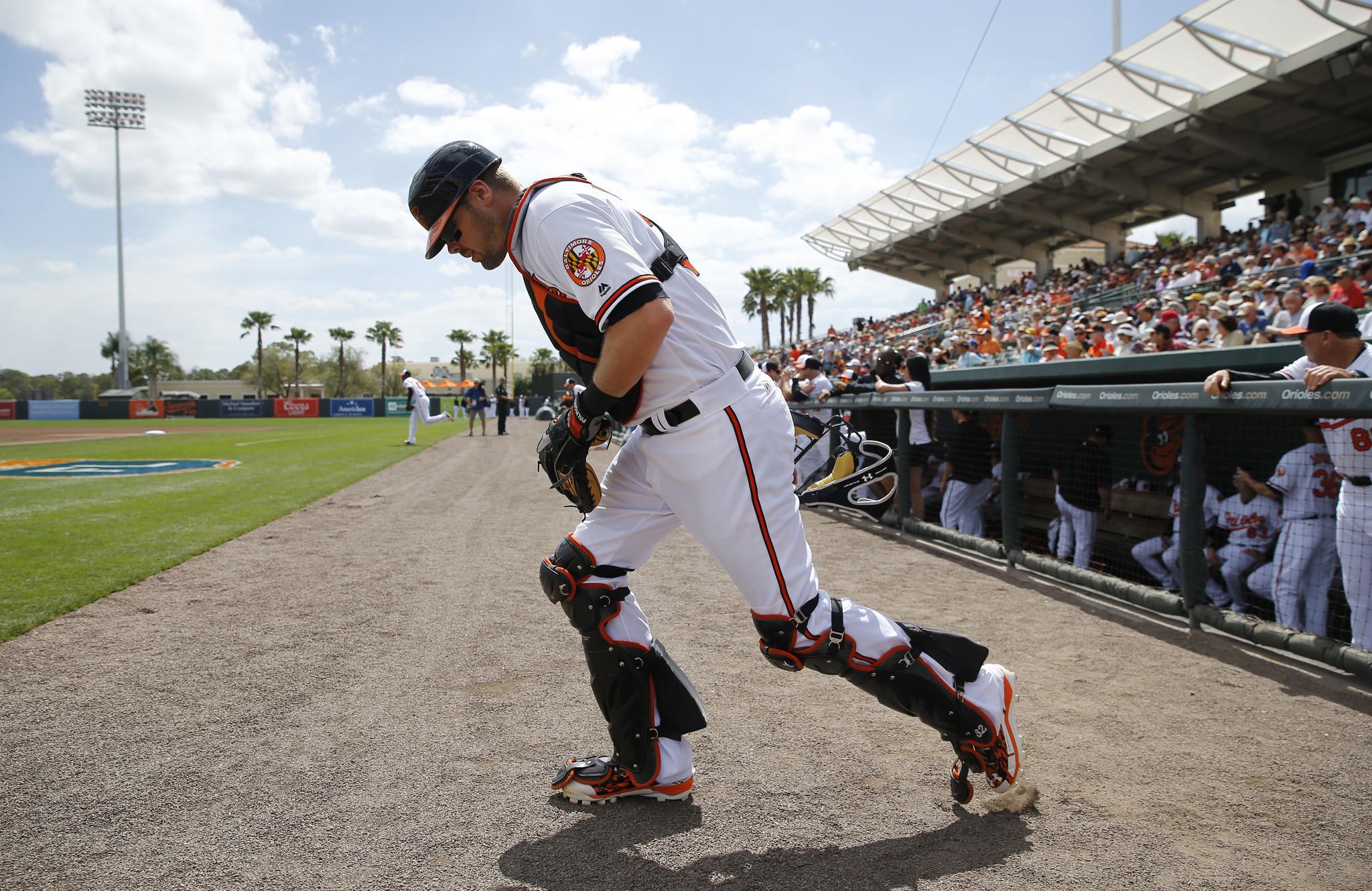 Orioles catcher Matt Wieters resumes hitting activity - Baltimore Sun
