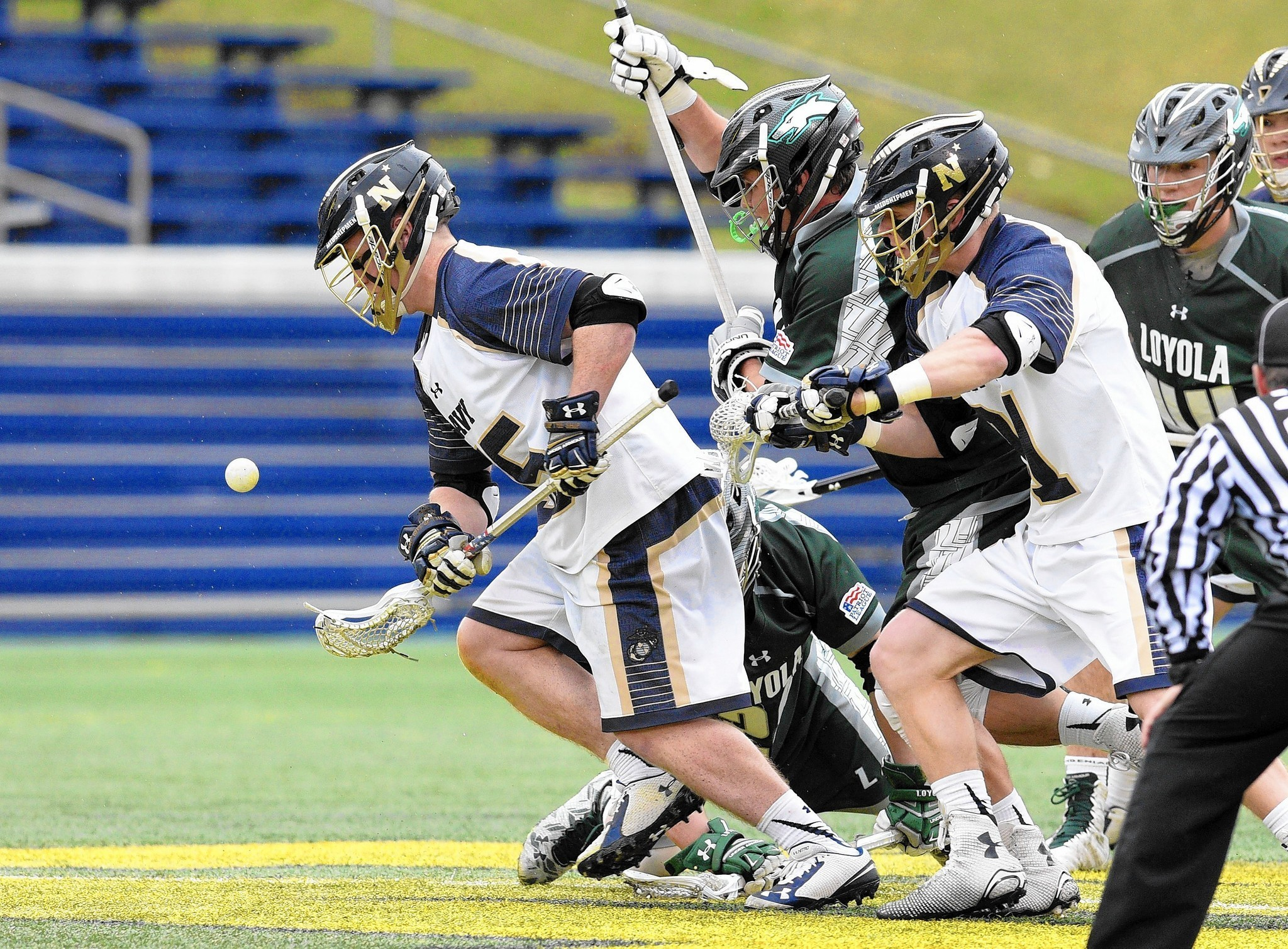 Navy lacrosse notes: Dove breaks Navy career record for faceoff wins