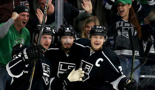 Kings Captain Dustin Brown Looks To Playoffs