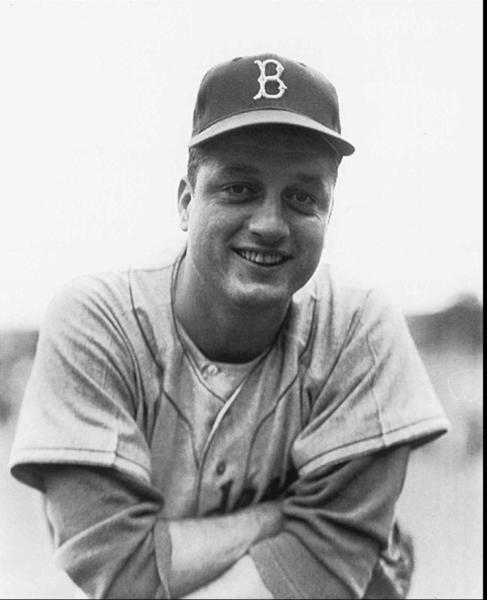 Tommy Lasorda is shown in this undated file photo when he was a player for the Brooklyn Dodgers.