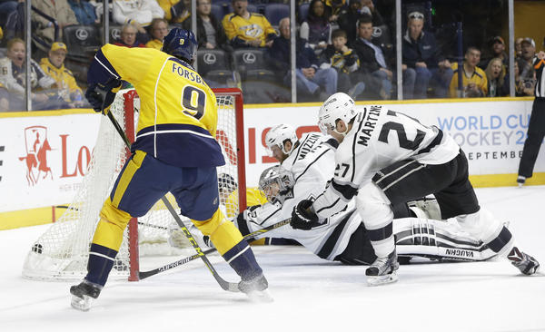 Second Period Ruins Kings In 5-2 Loss To Predators
