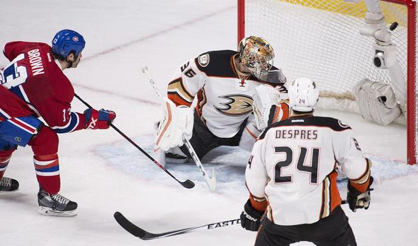 Ducks Denied A Playoff Bid By The Canadiens