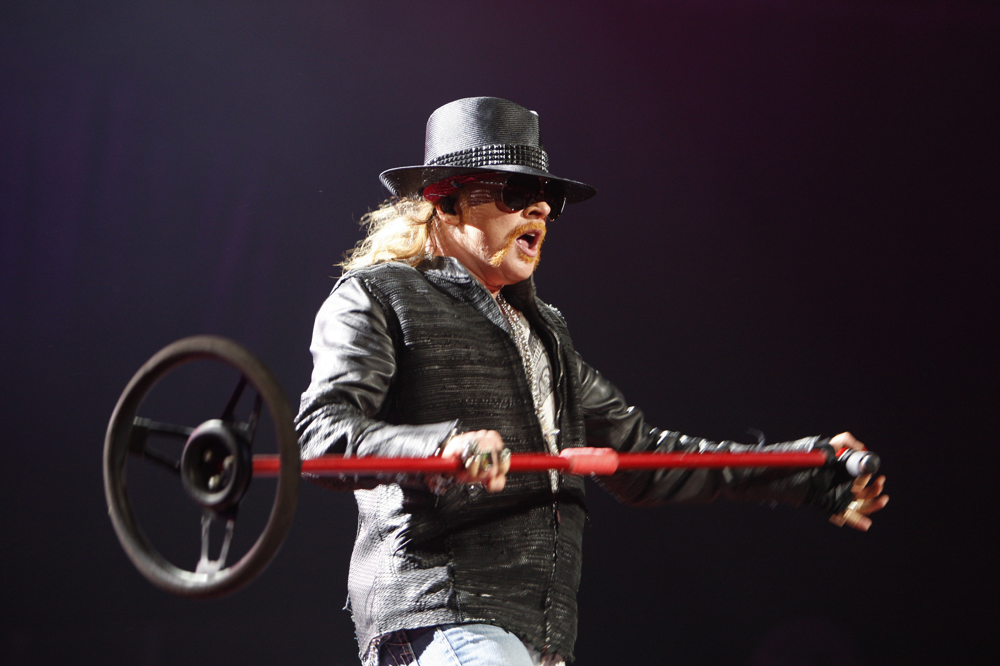 Is Guns N' Roses' Axl Rose joining AC/DC?