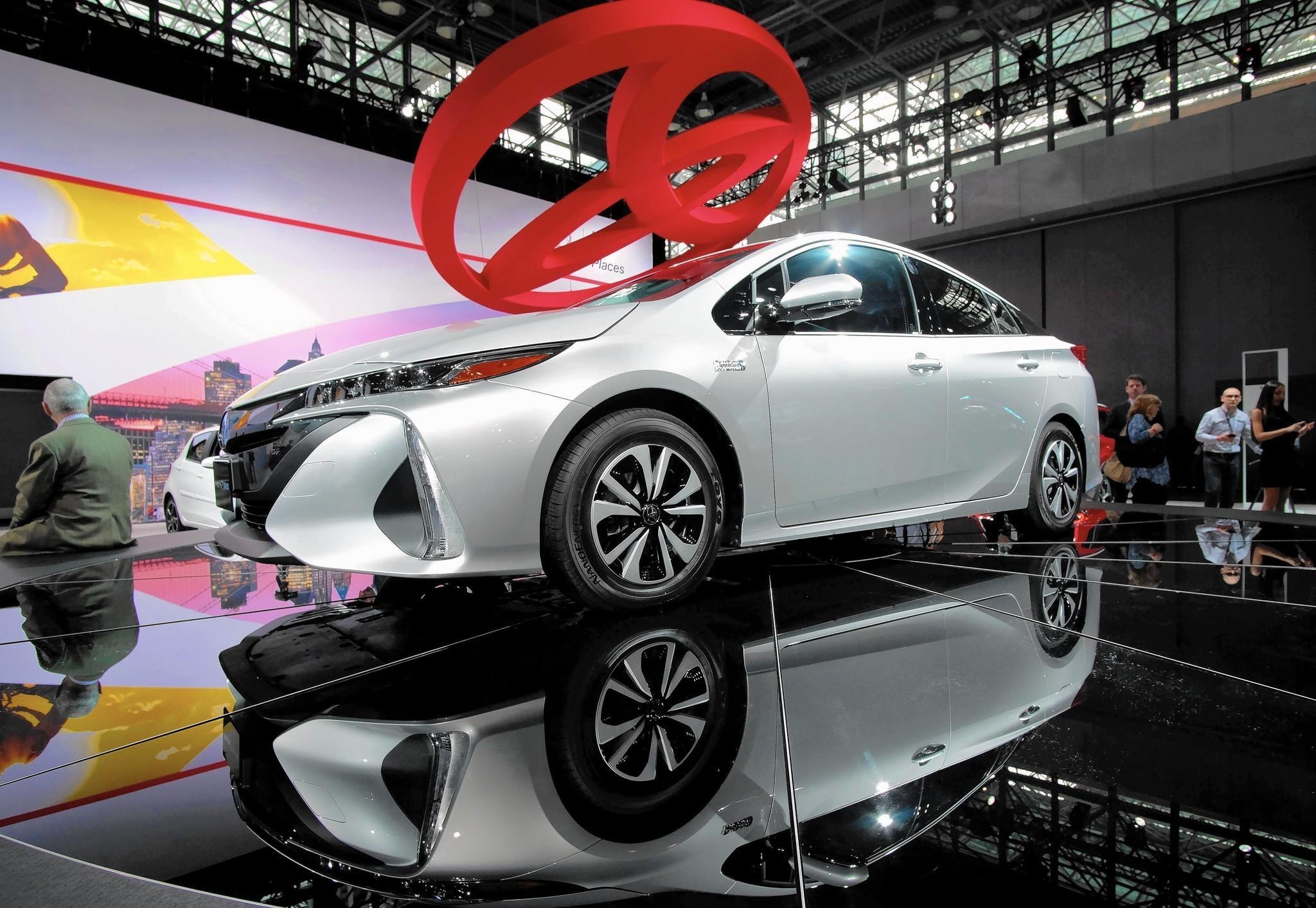 Toyota unveils four new models prius prime highlander suv 86 sports coupe corolla chicago tribune