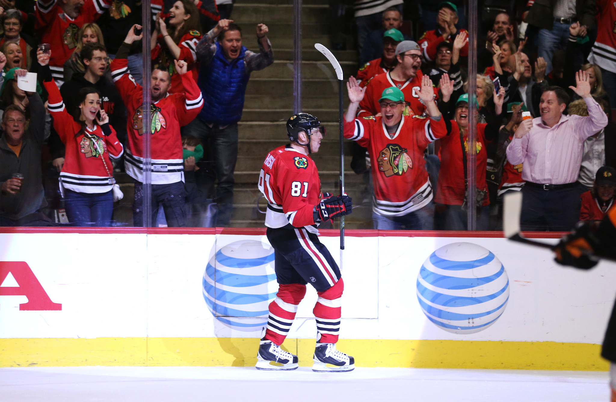 500 marian hossa on verge of making nhl history with
