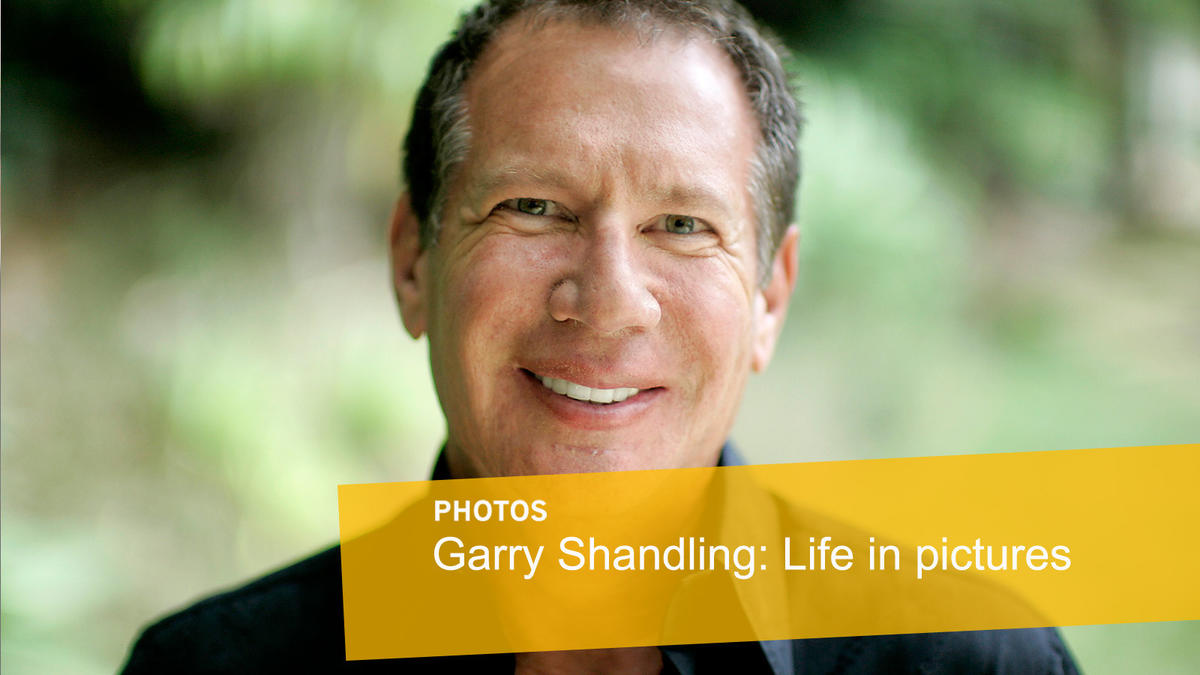 Garry Shandling: Life in pictures