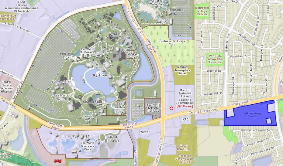 shopping center near seaworld to redevelop for larger publix new outparcel growthspotter