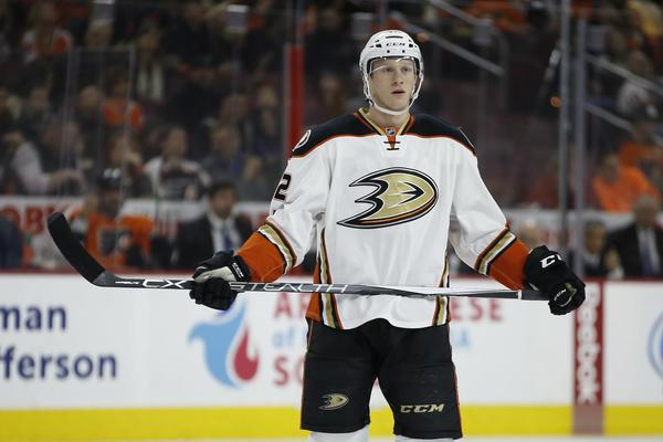 Ducks' Josh Manson Fined For Throat-slash Gesture