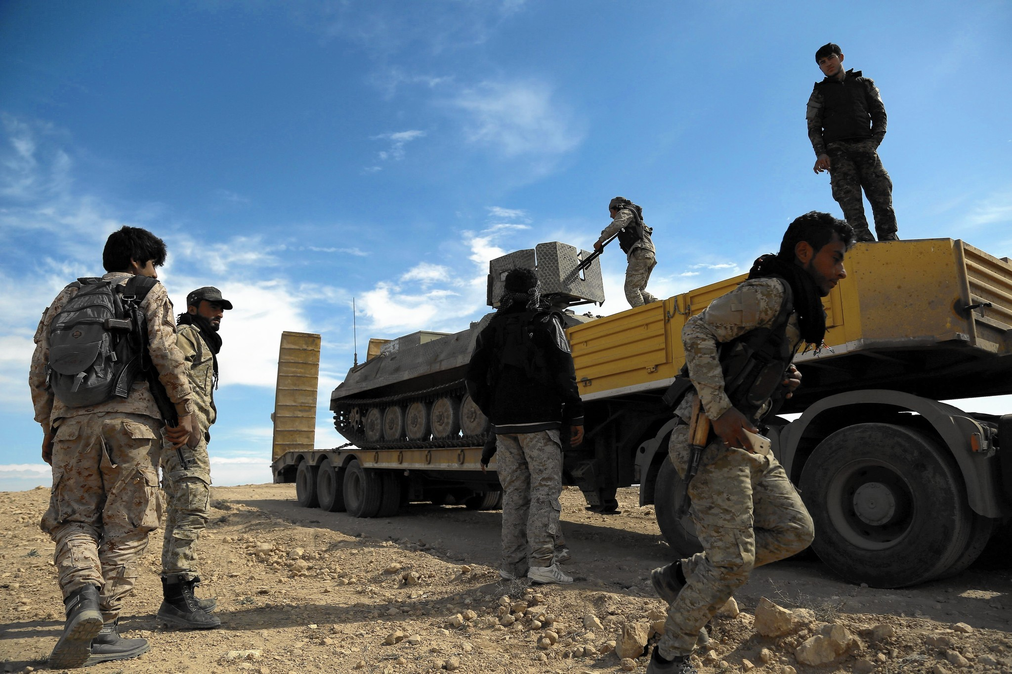 CIA-armed militias are shooting at Pentagon-armed ones in Syria