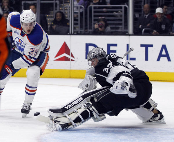 Kings Hope To Clean Up Defense After Holding Off Oilers, 6-4, To End Slide