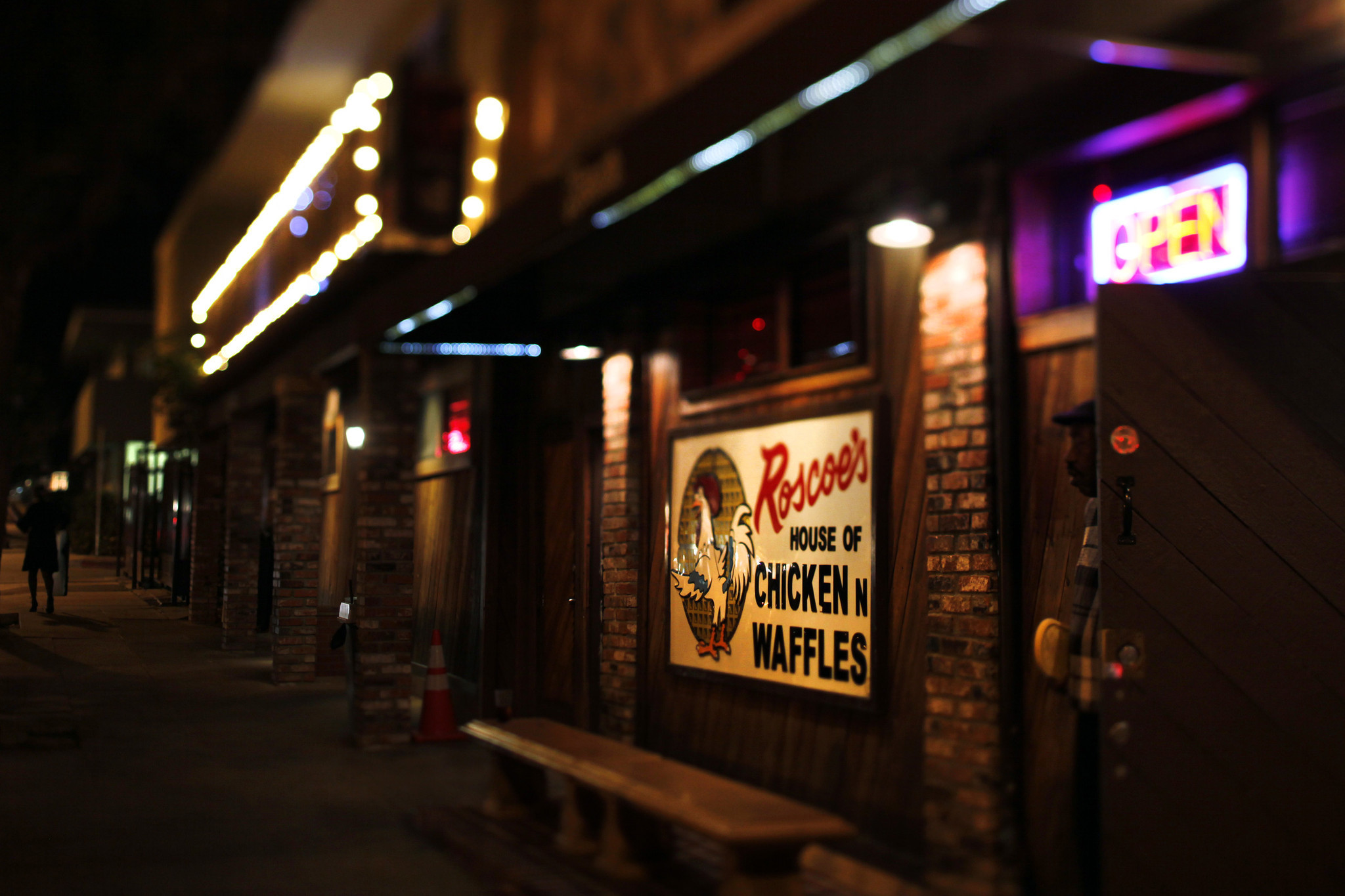Parent pany of Roscoes House of Chicken and Waffles files for