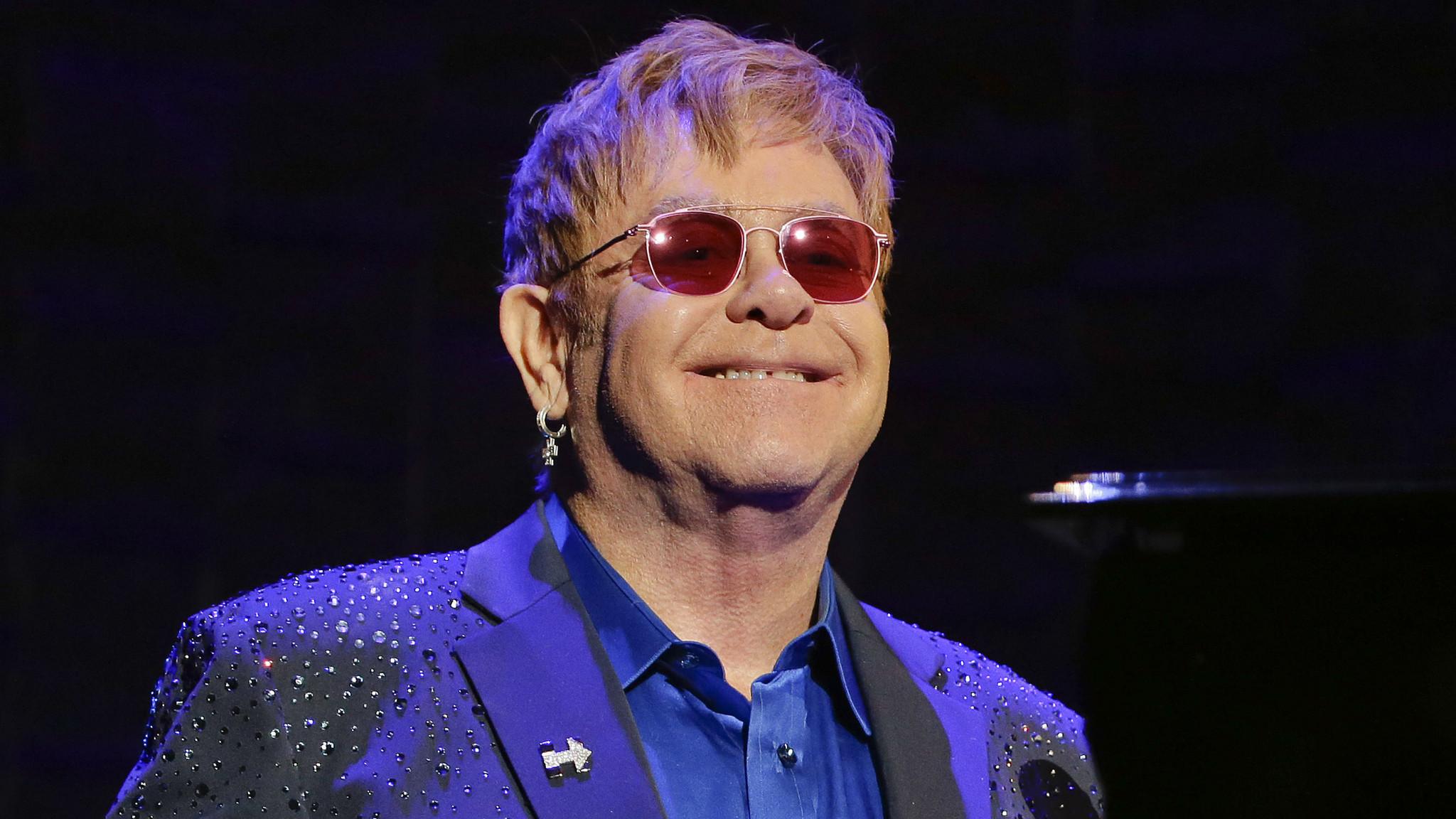 Elton John sued for se...