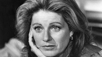 Patty Duke at a 1985 news conference.