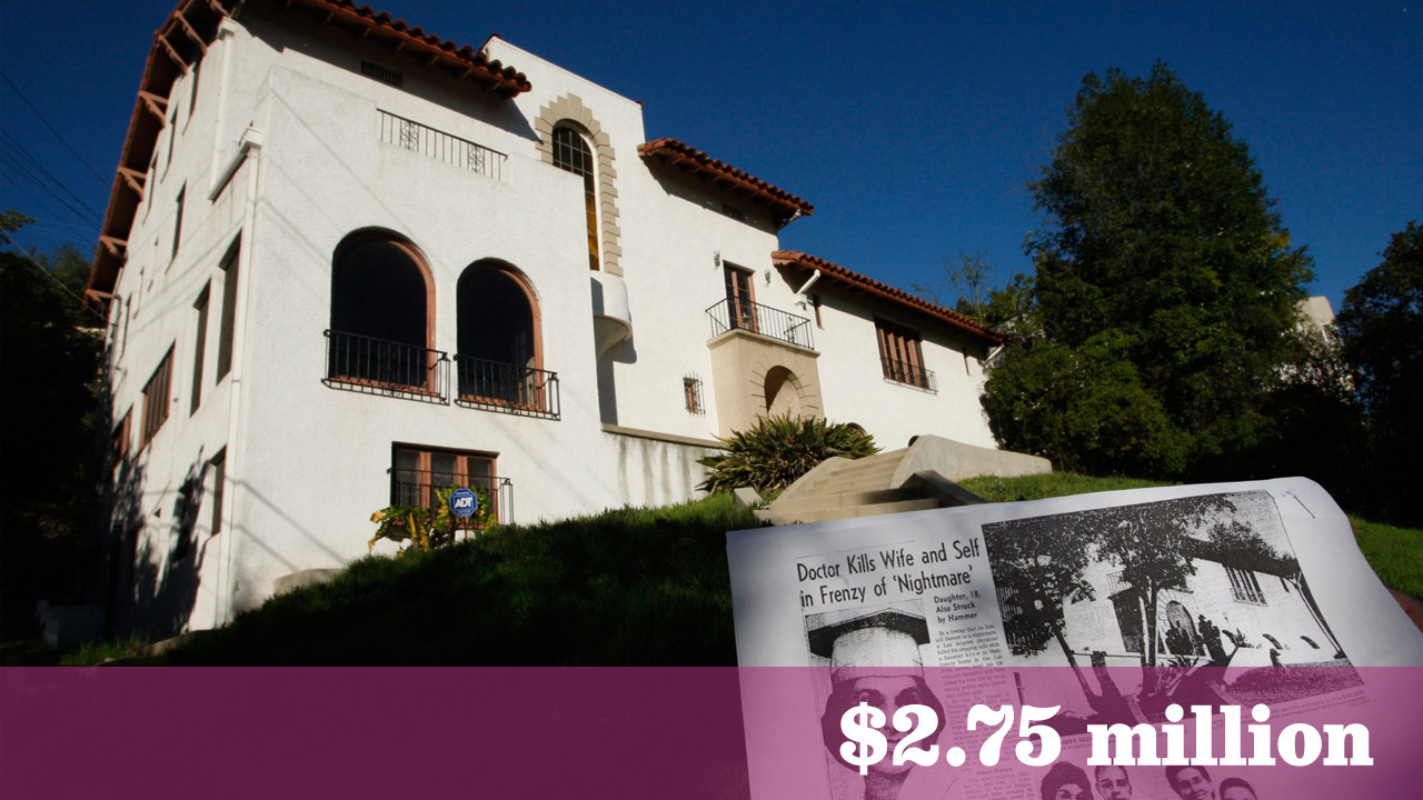 Tragic Past Haunts So Called Murder House In Los Feliz