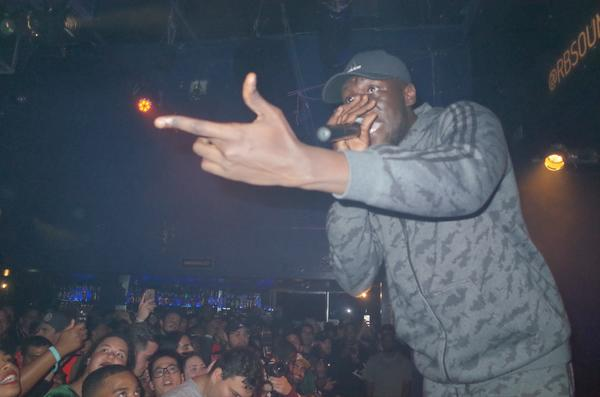 Stormzy near the beginning of his set.