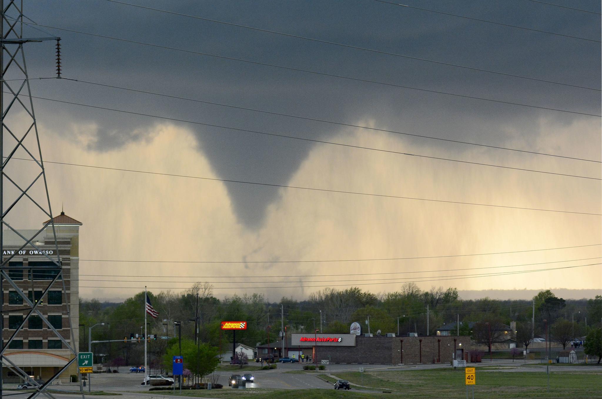 7 Hurt Homes Businesses Damaged After Tornado In