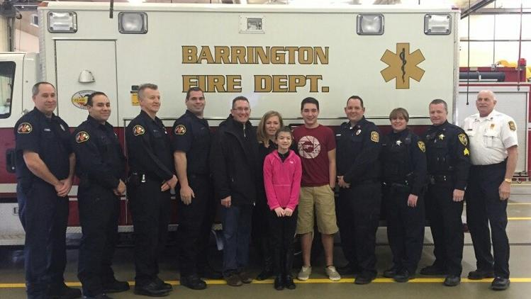 A father's life saved by son's CPR