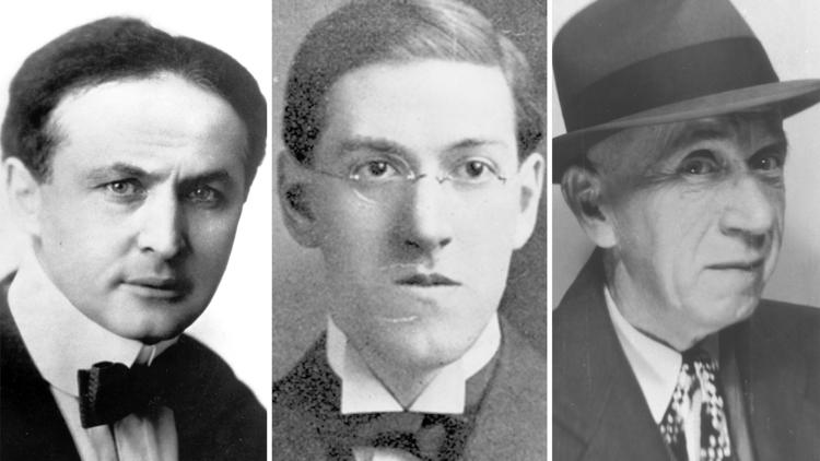 Harry Houdini, H.P. Lovecraft and C.M. Eddy Jr.