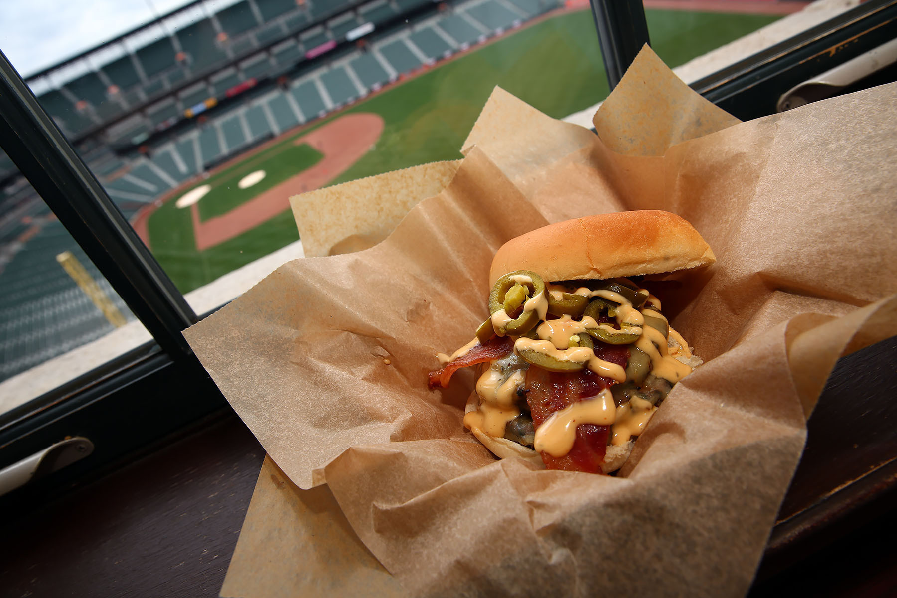 Camden Yards New Food