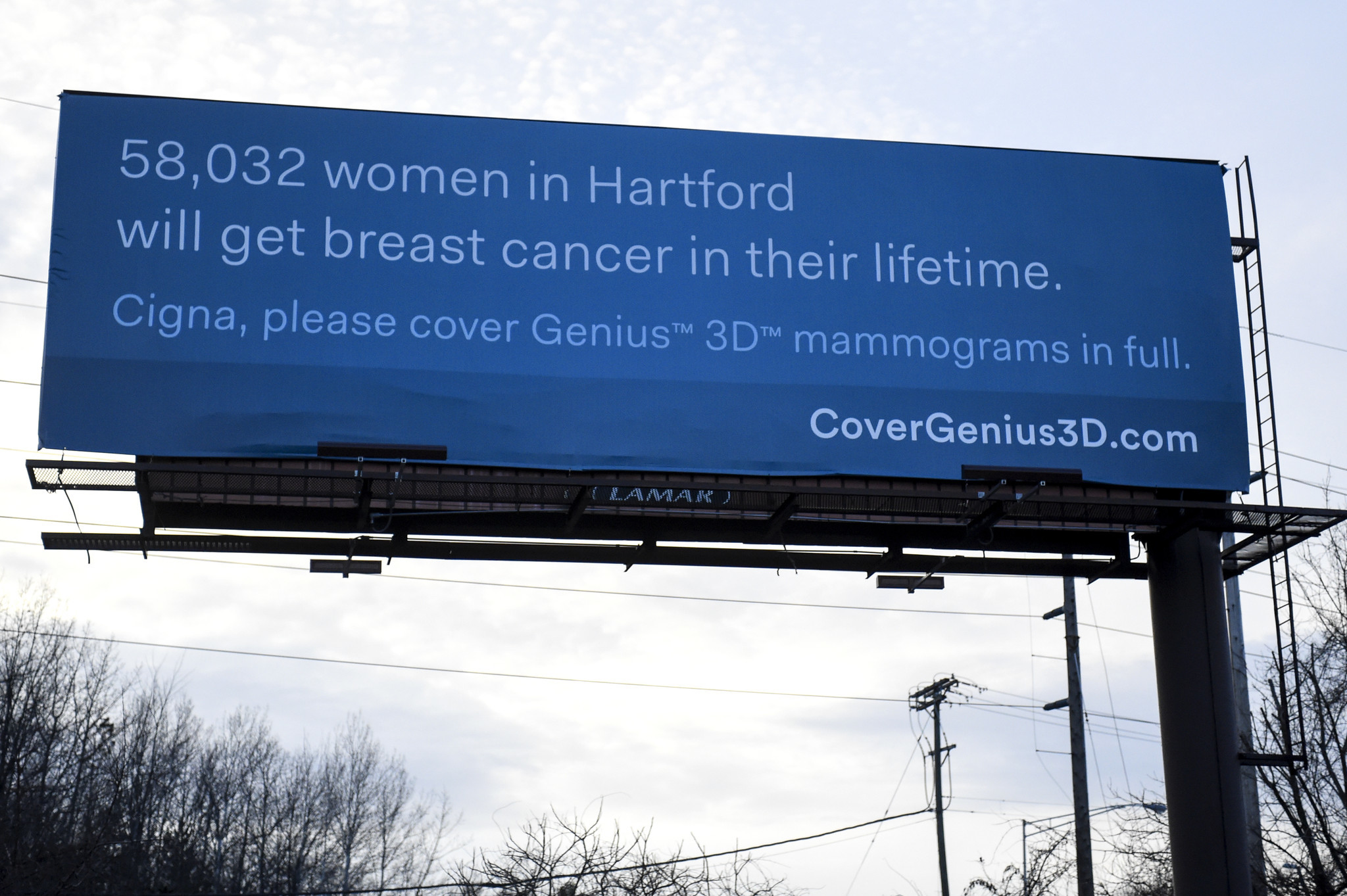 Billboard Campaign For Mammograms Aimed At Insurers