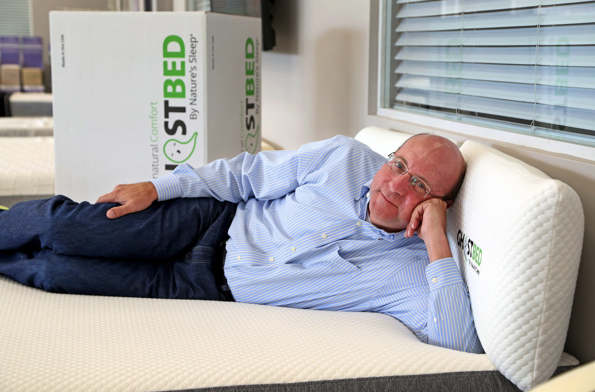 Mattress maker goes after the younger crowd online