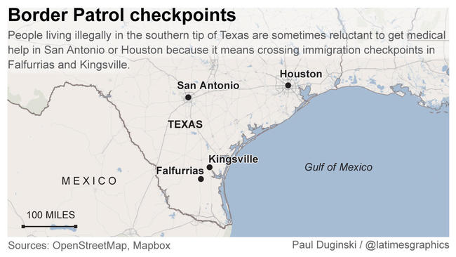 For some migrants in Texas obtaining healthcare means ting