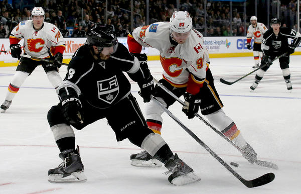 Kings' Drew Doughty And Executive Rob Blake Discuss The Finer Points Of Scoring By Defensemen