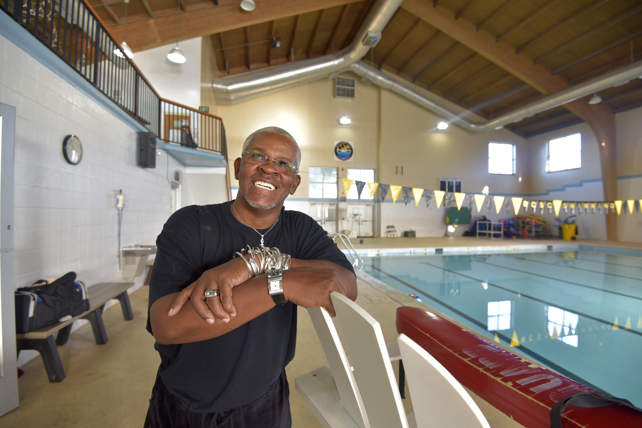 Baltimore City Swim Club Founder Russell Kim Williams Set To Join Maryland Swimming Hall Of Fame