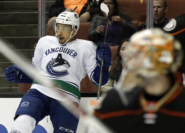 Emerson Etem, Vancouver Canucks Stun Ducks In Third Period, 3-2