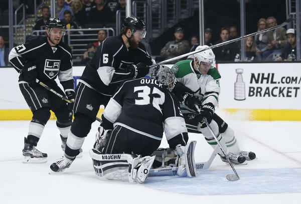 Kings Can't Hold On To Third-period Lead And Fall To Stars, 3-2