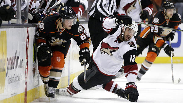 Center Chris Wagner Finds His Way Back To The Ducks After Two Side Trips To The Waiver Wire