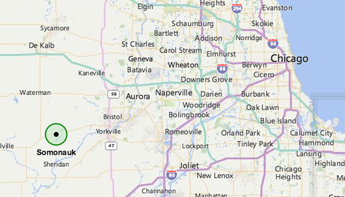 Man From Sandwich Dead After Amtrak Train Hits Car Aurora Beacon - Chicago amtrak map